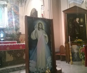 Benedezione dell'Icona della Divina Misericordia