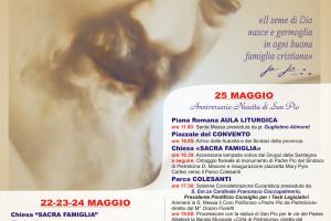 25 Maggio festeggiamo la nascita di P. Pio