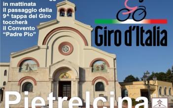 Il Giro D'Italia fa tappa a Pietrelcina