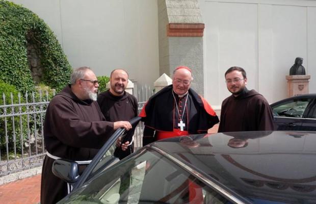 Il ringraziamento del Cardinale Martino