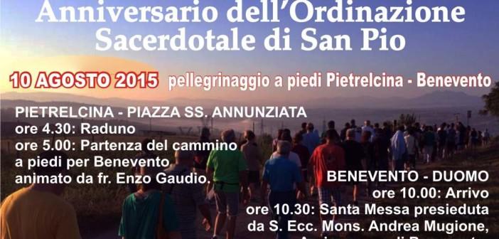 105° Anniversario di Ordinazione presbiteriale di Padre Pio