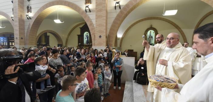 Il battesimo di Padre Pio