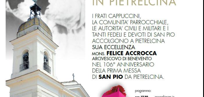 Anniversario della Prima Messa di Padre Pio