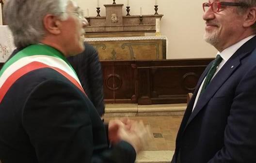 Il Governatore della Lombardia in visita a Pietrelcina