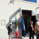 L'ingresso della stazione di Pietrelcina