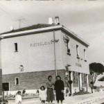 Un'immagine d'epoca della stazione di Pietrelcina