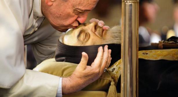 Il Papa a Pietrelcina