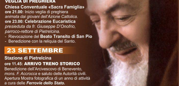 23 settembre – 50esimo della morte di San Pio