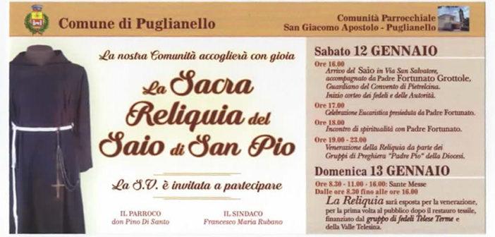 Il Saio di Padre Pio a Puglianello