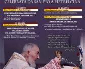 110 ANNIVERSARIO DELLA PRIMA MESSA DI PADRE PIO