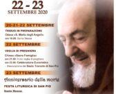 22-23 settembre ANNIVERSARIO della MORTE di SAN PIO